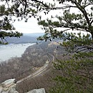 Weverton Cliffs looking toward Harpers Ferry by Furlough in Views in Virginia & West Virginia