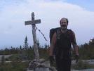 Steve Finishing In 2010 by Turtleback NOBO in Thru - Hikers