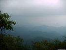 Rain Approaching Albert Mt by camich in North Carolina &Tennessee Trail Towns