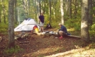 Major Chaos and Teatime at Addis Gap Campsite by Teatime in Section Hikers