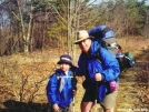 Father and Son on Calf Mtn. by Teatime in Section Hikers