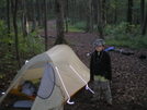 Jarrard Gap by NightStick in Tent camping