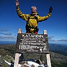 Sinister Pope a top Katahdin 17 Sept 2011 by Hanriver in Thru - Hikers