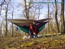 Camping Near Windy Rock N Of Pearisburg by Deerleg in Section Hikers