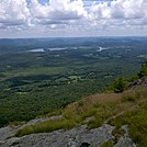 Twin Lakes and Housatonic Valley from North End of Race Mountain Cliff-Walk, Mt. Washington, Mass. by Driver8 in Views in Massachusetts
