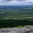 Housatonic Valley and Berkshires Beyond, Eastward from North End of Race Mountain Cliff-Walk