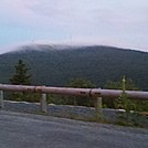 Last Remnants of Fog on Mt. Greylock Summit from Mt. Fitch Overlook, Notch Road, July 3, 2011 by Driver8 in Views in Massachusetts