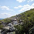 Boott Spur Trail Toward Split Rock
