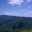 Carter Dome and Wildcats from Boott Spur Trail Near Split Rock by Driver8 in Views in New Hampshire