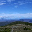 Southeast Across East Ridge Toward Winnipisauke from Moosilauke Summit, May 5, 2012