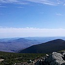 South from Moosilauke Summit, May 5, 2012