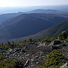 Tunnel Brook Ravine and Mt. Clough from Moosilauke South Peak, May 5, 2012