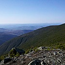 West Shoulder of Moosilauke from South Peak, May 5, 2012