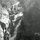 Main Gorge Falls on Gorge Spur to Ammo Ravine Trail (B&W) by Driver8 in Views in New Hampshire