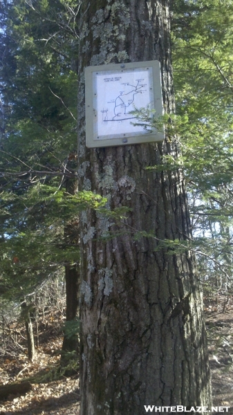 Brassie Brook Camping Area, Posted Map, Salisbury, Ct
