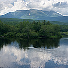 Katahdin from Abol Bridge