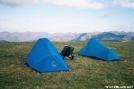 Max Patch Summit campsite by Lobo in Tent camping