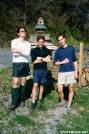 Shaman, Shakedown, & Nelse by Lobo in Thru - Hikers
