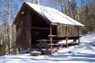 Gooch Mtn Shelter 1-15-11
