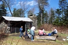 Mt Collins Shelter by Pioneer Spirit in North Carolina & Tennessee Shelters