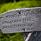 Trail Sign by Visionmonger in Trail & Blazes in Virginia & West Virginia