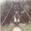 1983-Vermont-Christopher-Clarendon Gorge by cwardle in Trail & Blazes in Vermont