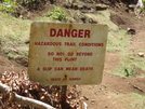 Kalalau Trail Sign by SwitchbackVT in Other Trails