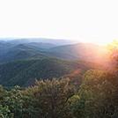 sunset blood mountain