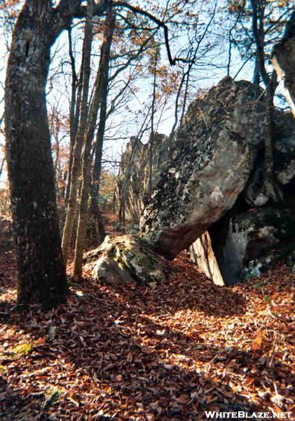 Balanced Rock atop Tinker Ridge