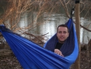 Me In My Hammock by silence in Hammock camping