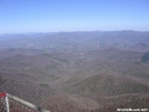 View from the firetower on Albert Mountain by hiker33 in Views in North Carolina & Tennessee