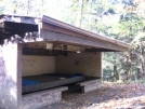Cherry Gap Shelter by hiker33 in North Carolina & Tennessee Shelters