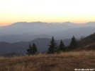 View from Round Bald, north of Carvers Gap by hiker33 in Views in North Carolina & Tennessee