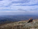 """Twisted Walking Stick"" near the summit of Hump Mountain by hiker33 in Views in North Carolina & Tennessee"