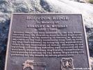 The Stan Murray Memorial on Hump Mountain
