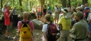 Jester leads a hiking tour of the Gettysburg battlefield during the 2007 ALDHA Gathering by TJ aka Teej in Get togethers