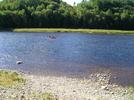 Canoe Midstream On The Kennebec by TJ aka Teej in Views in Maine