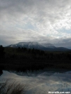Cloudy Snowy Katahdin by TJ aka Teej in Trail & Blazes in Maine