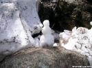 Katahdin Snowman by TJ aka Teej in Trail & Blazes in Maine