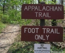 Foot Trail Only! by TJ aka Teej in Trail & Blazes in Maryland & Pennsylvania