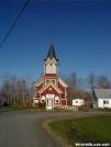 The Old Church Hostel by TJ aka Teej in Maine Trail Towns