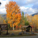Katahdin Stream Campground, Oct. 19th 2016.