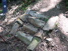 Stairs At Bottom Of Port Clinton Grade by dperry in Trail & Blazes in Maryland & Pennsylvania