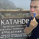 Cleanshave Katahdin Summit by cleanshave in Thru - Hikers