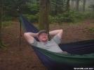 Redbear in his ENO hammock by grrickar in Hammock camping