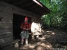 Redbear at Roaring Forks Shelter by grrickar in North Carolina & Tennessee Shelters