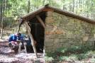 Redbear at Groundhog Creek Shelter