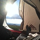 Camping on Max Patch