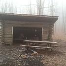 Hog Back Ridge Shelter Feb 2014