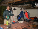Breakfast At Moreland Gap Shelter by Just Plain Jim in Section Hikers